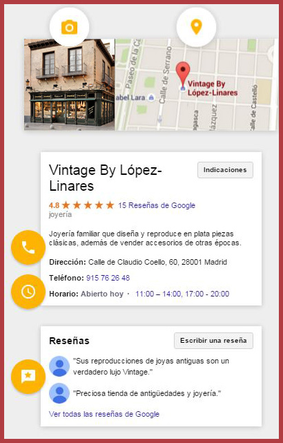 google local posicionamiento seo my business maps geolocalizacion movil